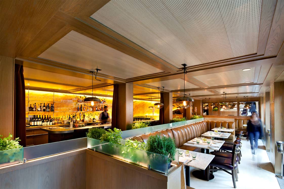 Perspective view of The Ivy Hotel's Magdalena Restaurant