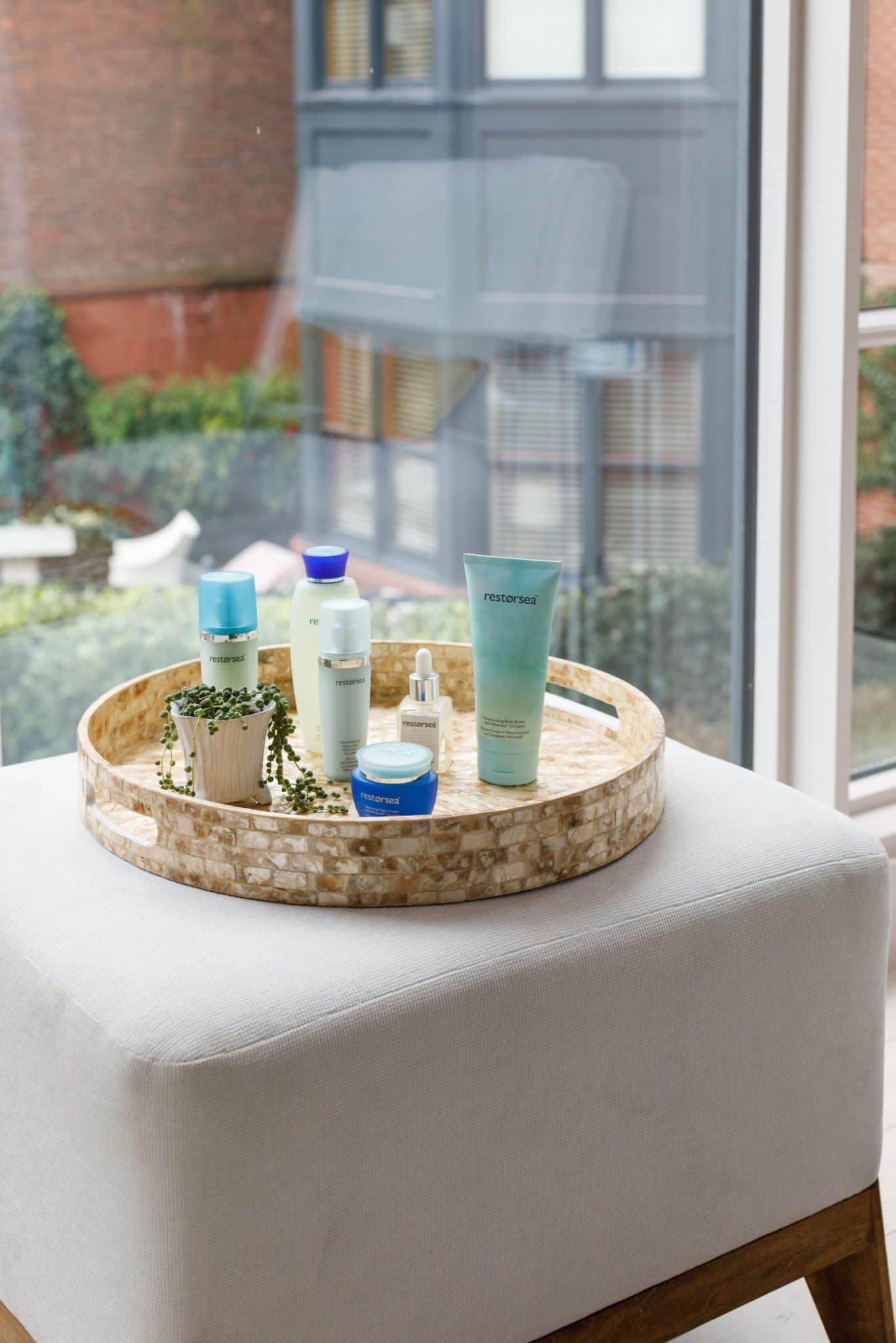 Products used at the spa