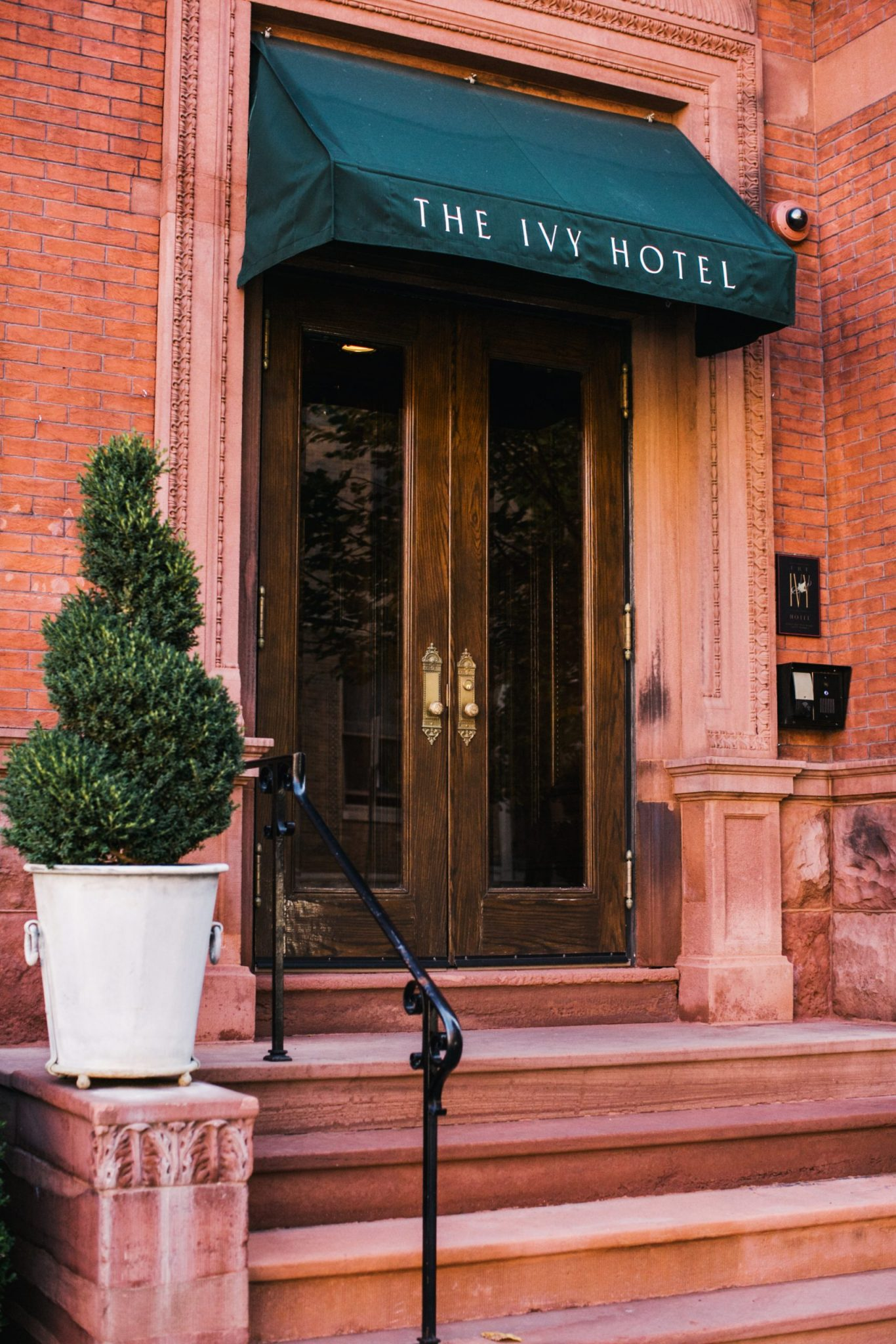 Front entrance to the Ivy