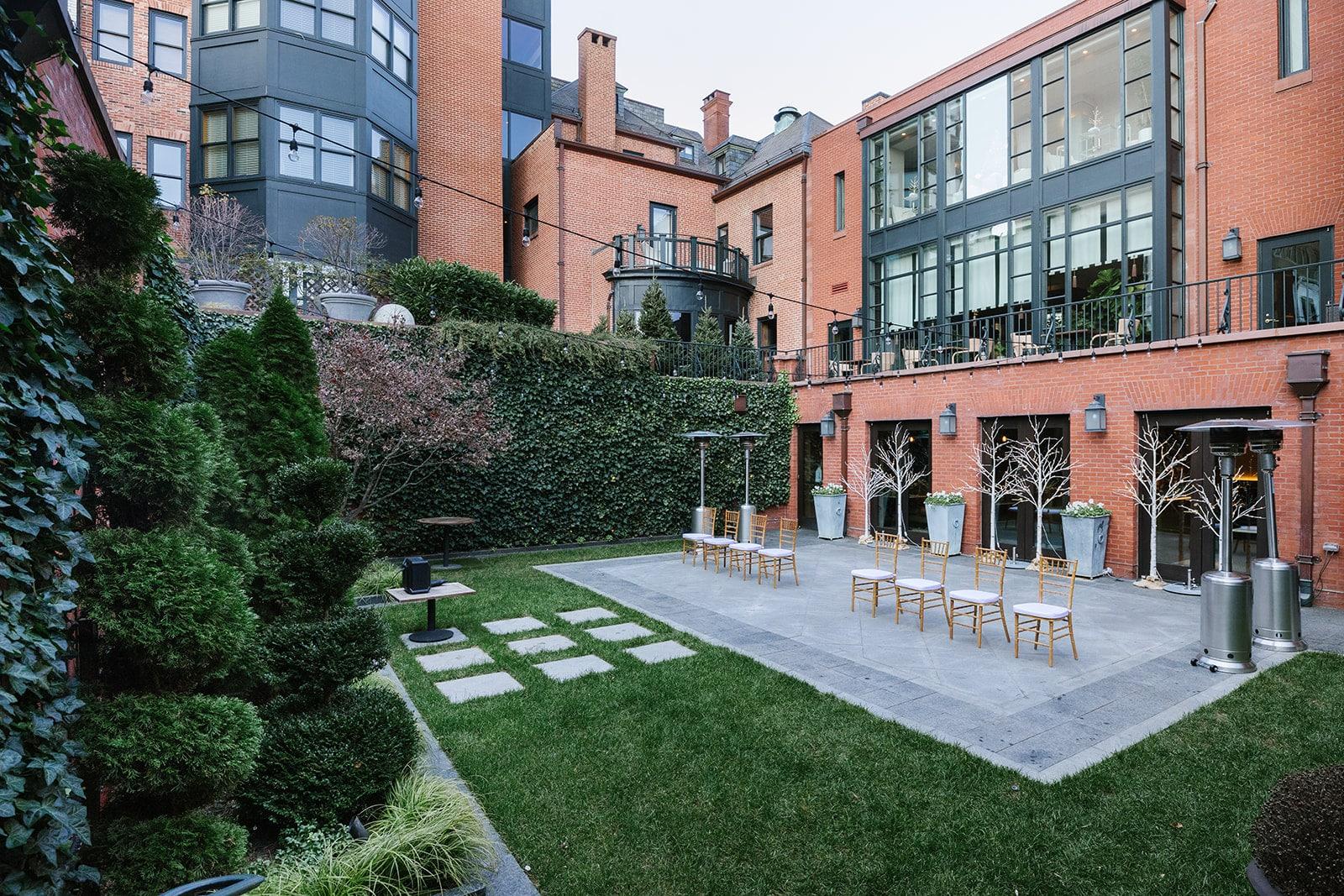 Courtyard at Magdalena