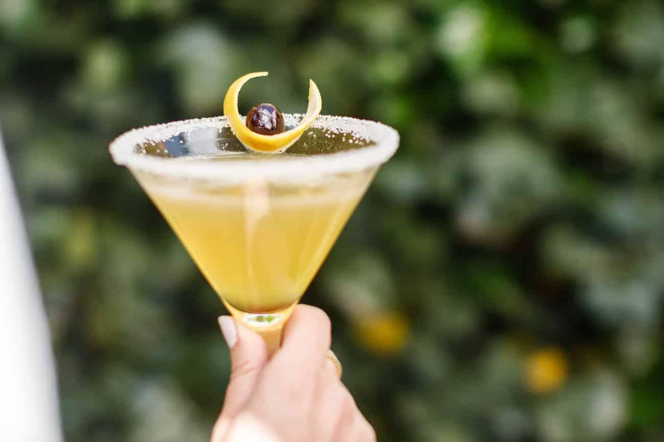 Cocktail at Magdalena restaurant